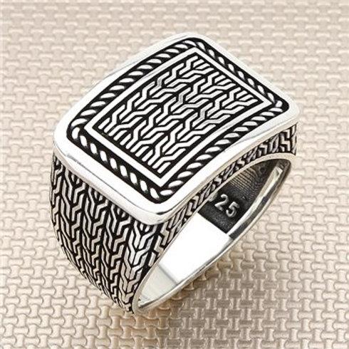 925 carat sumerian ring
