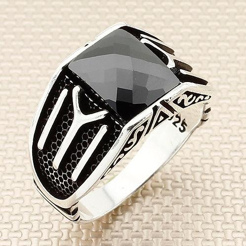 Kayi Tribe 925 carat stone ring