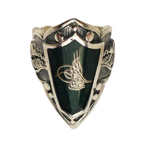 Ottoman Silver Men's Thumb ring 027