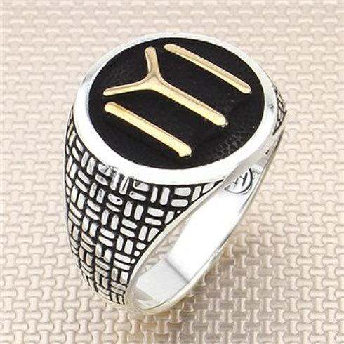 Kayi Tribe  925 carat plain ring
