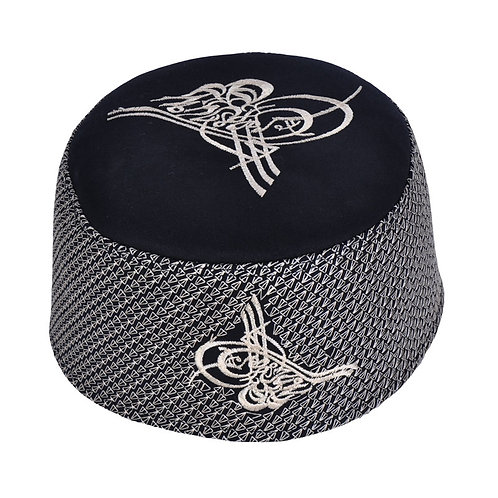 Muslim Hat Turkish Skull Cap  Kufi Islamic Prayer Namaz-Mostar