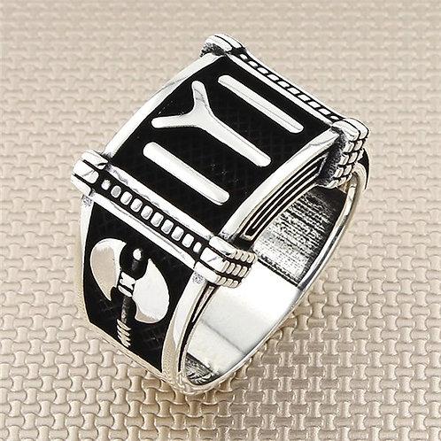 Kayi Tribe  925  Ring