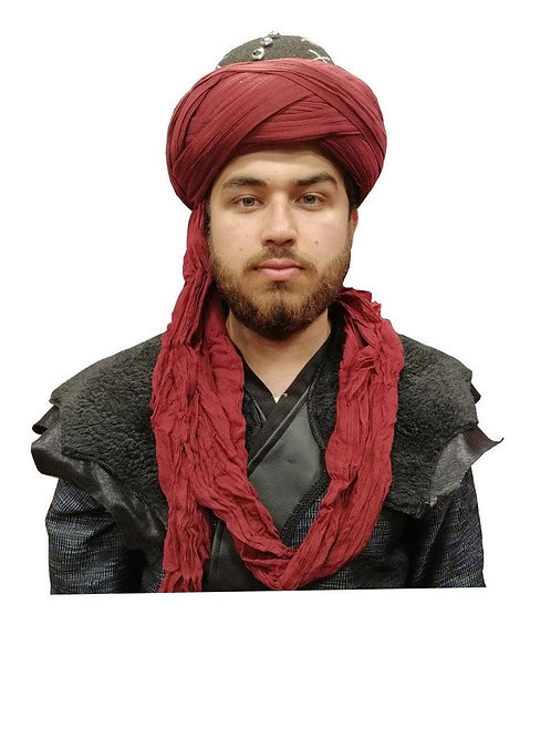 Diriliş Ertugrul Turban - Bordo Red 0102