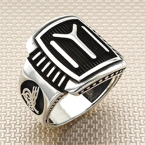 Kayi Tribe 925 carat mens ring