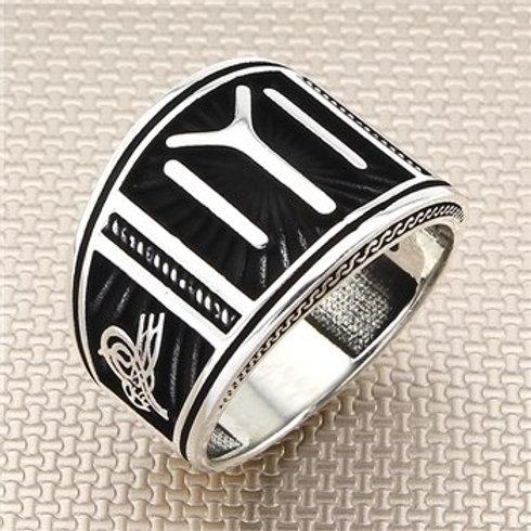 Kayi Tribe 925 carat round ring