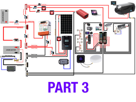 A Super Simple AWESOME Off Grid 12V System... Step By Step With Diagrams PART 3