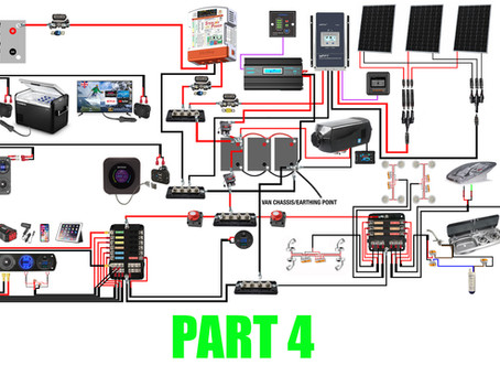 A Step By Step Guide To An Awesome Powerful Fully Off Grid 12v Set Up - PART 4
