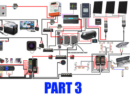 A Step By Step Guide To An Awesome Powerful Fully Off Grid 12v Set Up - PART 3