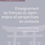 Enseignement du français au Japon... (Couverture)