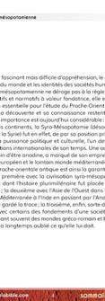 La mythologie syro-mésopotamienne (Extrait)