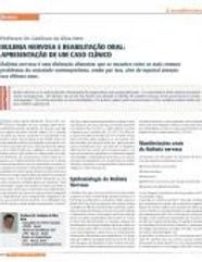 Artigo na Revista JornalDentistry - Bulimia Nervosa e Reabilitação Oral Apresentação de um Caso Clínico