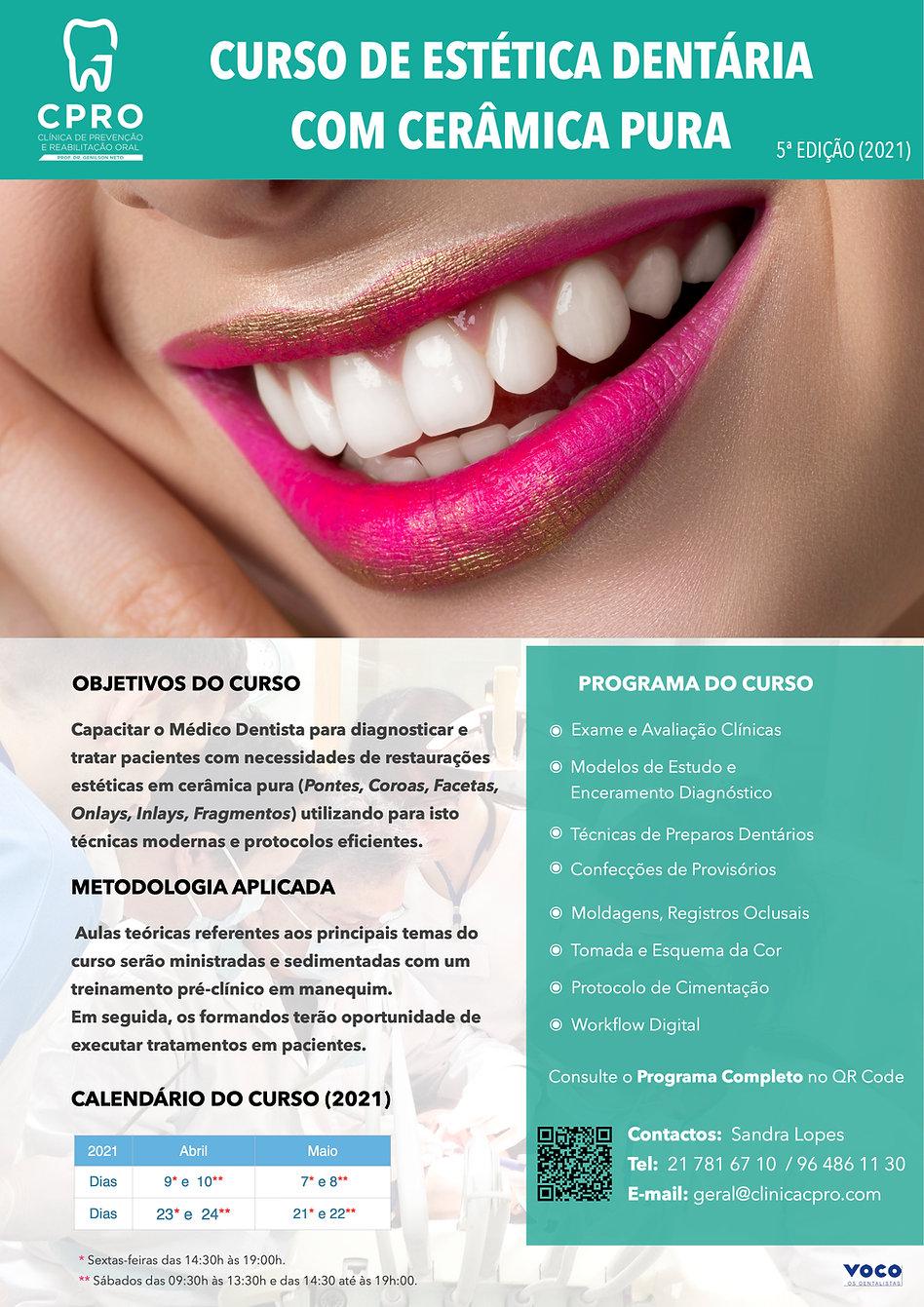 Curso de Estética Dentária  com Cerâm