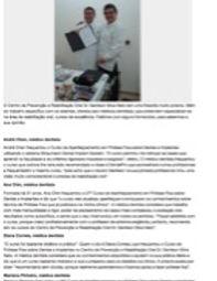 Artigo na Revista DentalPro - Médicos dentistas falam dos cursos do CPRO Dr. Genilson Neto