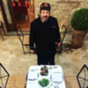 La tavola vegetariana dello chef James B