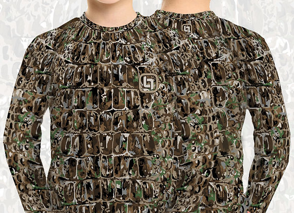 BGO Youth Performance Camo Long Sleeve