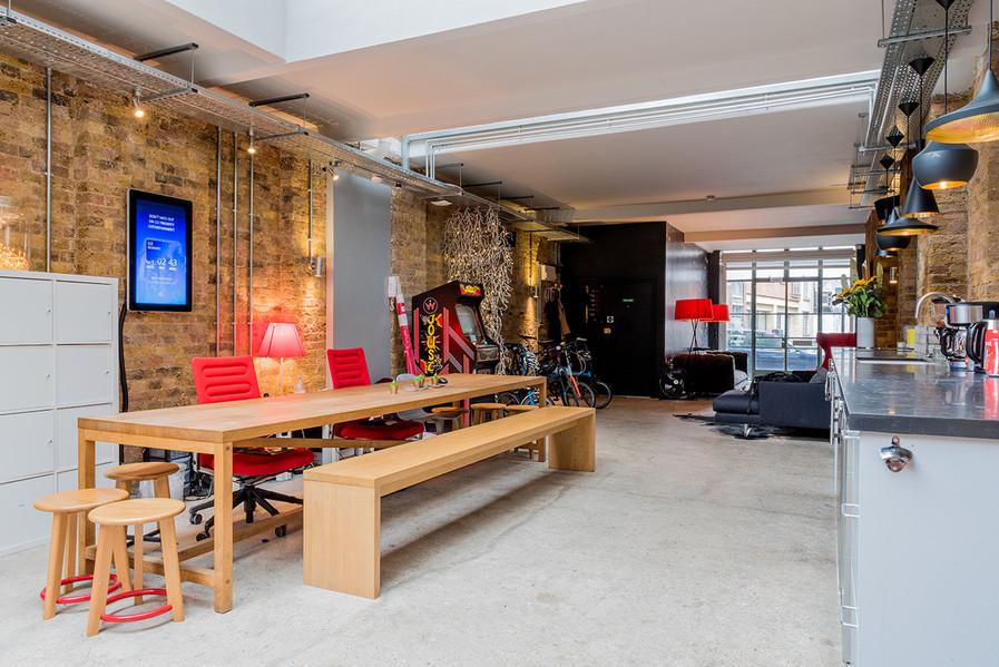 26 Britton Street communal space
