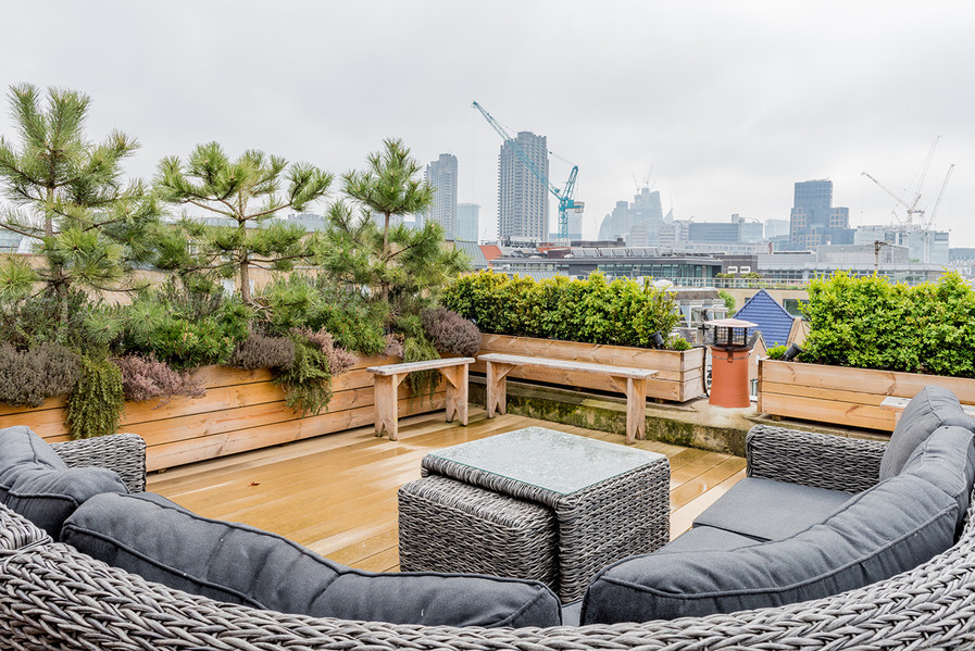 26 Britton Street roof terrace