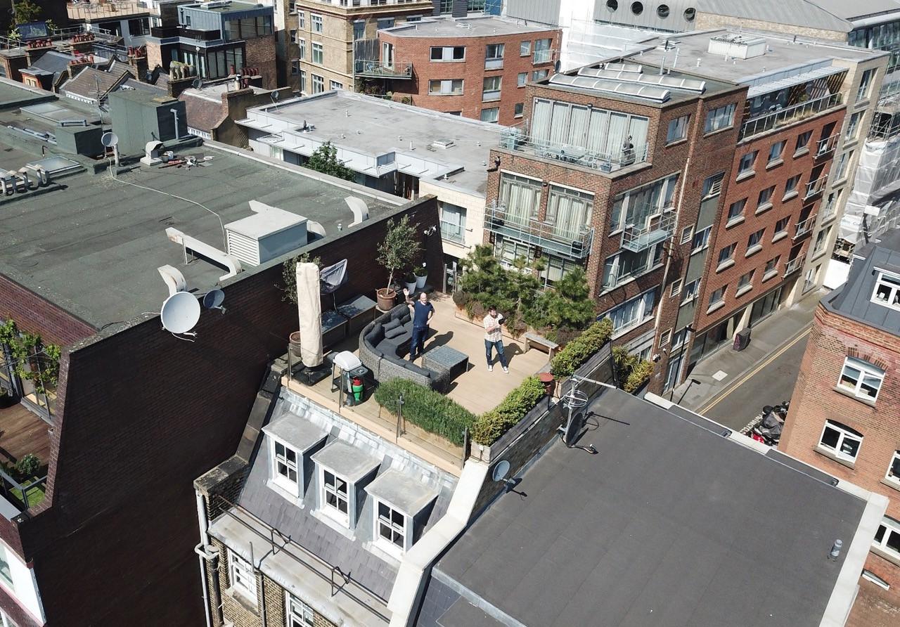 26 Britton Street drone