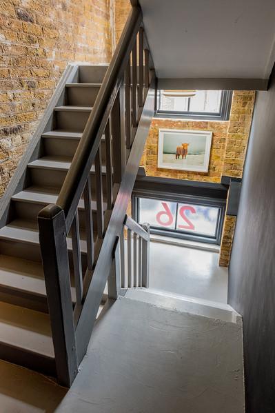 26 Britton Street stairwell