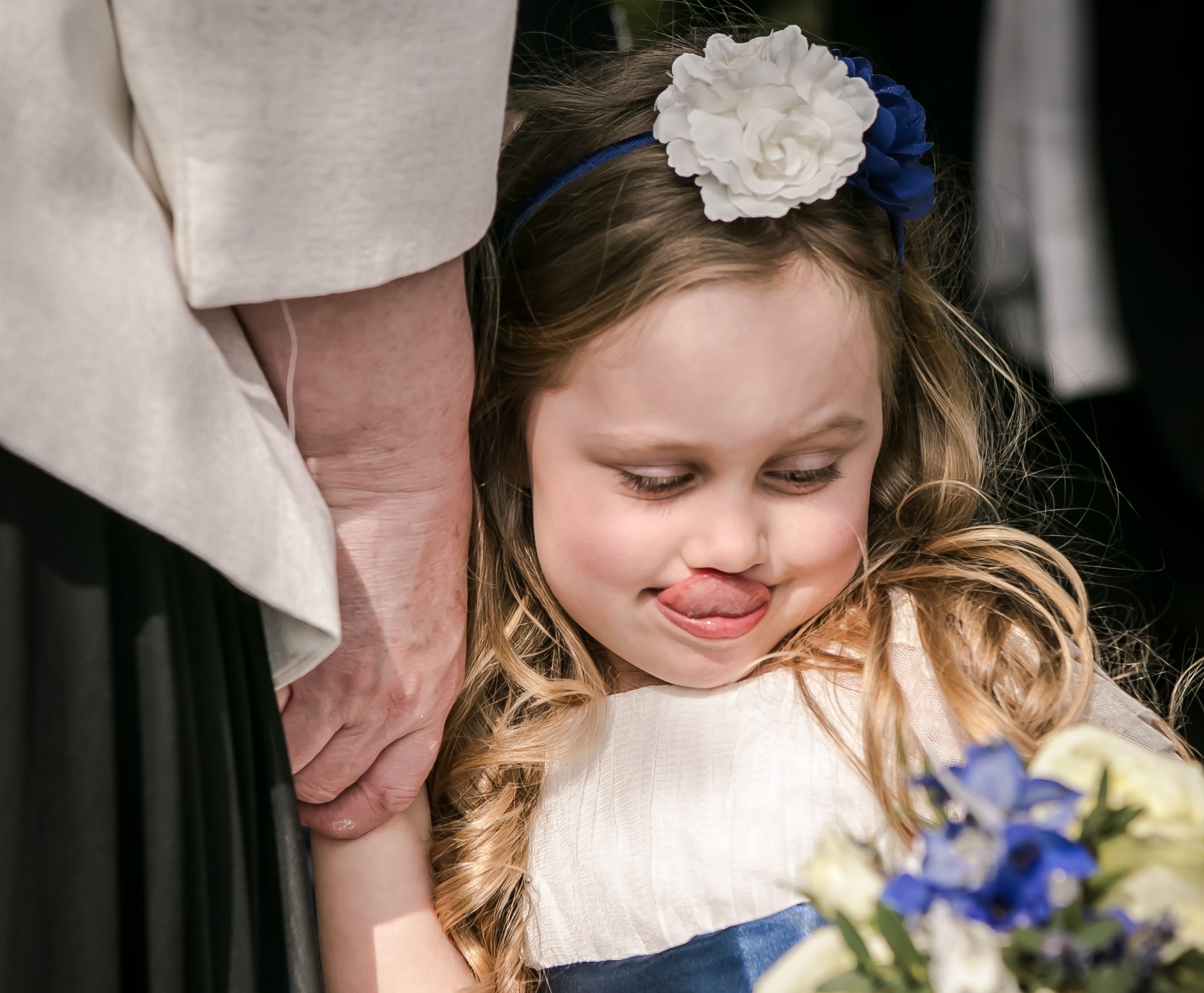 Becky's wedding