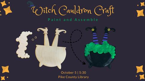 Witch Cauldron Craft