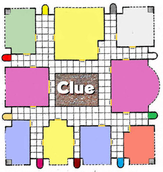 photograph regarding Printable Clue Game Cards referred to as Crank out Your Particular Board Sport
