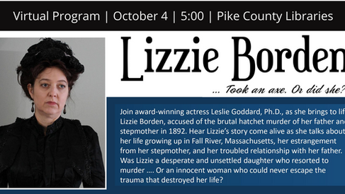 Lizzie Borden Living History Portrayal