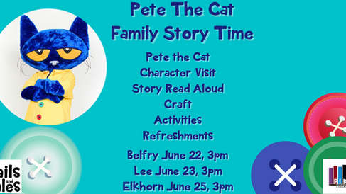 Family Story Time: Pete the Cat