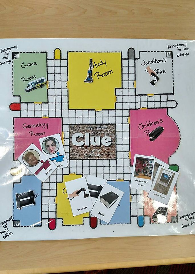 photograph regarding Printable Clue Game Cards called Deliver Your Particular Board Video game