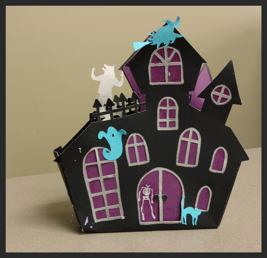 make your own haunted house