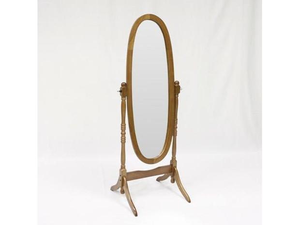 Oak Floor Mirror