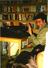 Carlos Guido (Trabajando como sonidista e iluminador)