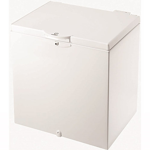 Indesit OS1A200H 81cm Wide 204L Chest Freezer - White