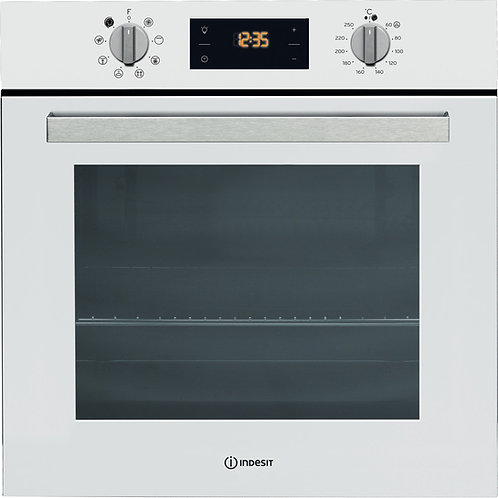 Indesit IFW6340WH Single Oven White