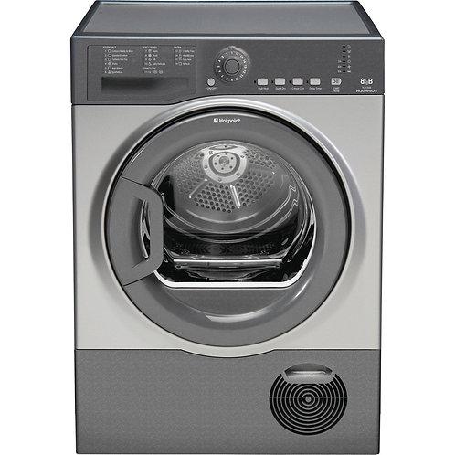 Hotpoint TCFS83BGG 8kg Condenser Dryer Grey