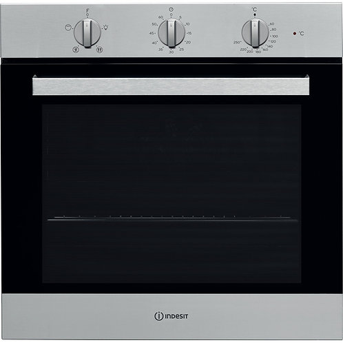 Indesit IFW6330IX Single Oven Stainless Steel