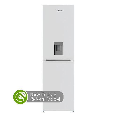 Montpellier MFF185DW 50/50Fridge Freezer with Water Dispenser