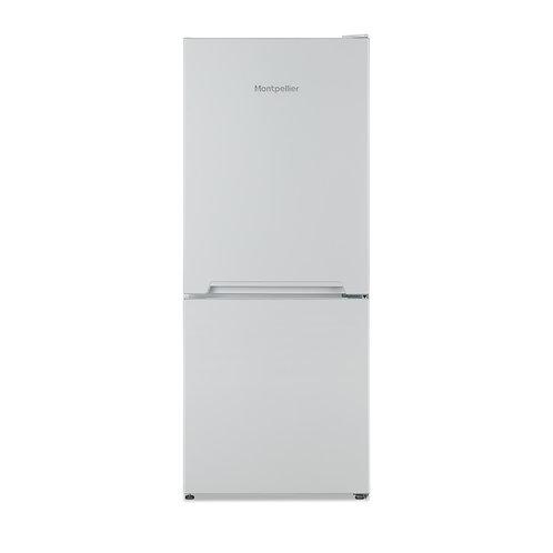 Montpellier MS135W Static Fridge Freezer in White