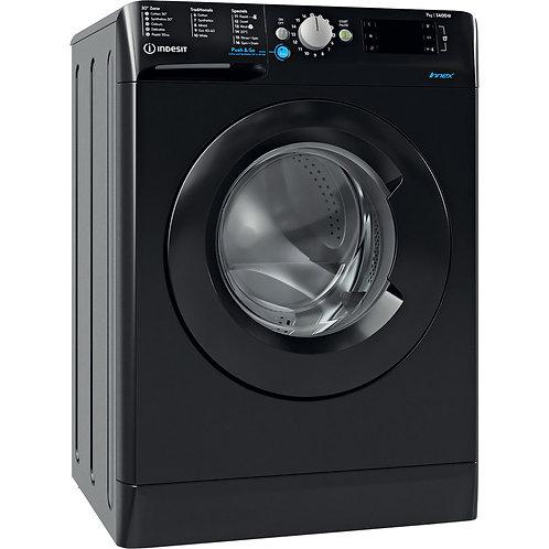 Indesit BWE71452K 7kg 1400 spin Black