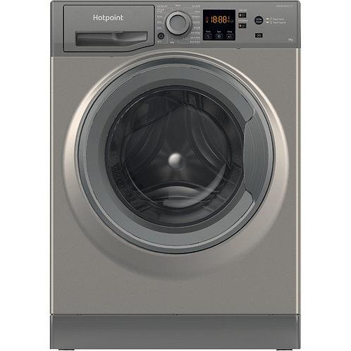 Hotpoint NSWM943CGG 9kg 1400 spin Silver Washing Machine