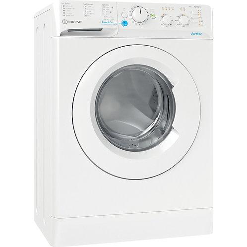 Indesit BWSC61251XW 6kg 1200 spin White Washing Machine