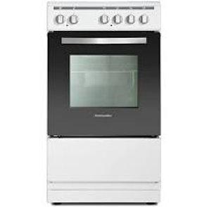 Montpellier MSC50W White Single Oven & Ceramic Top