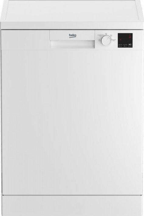 Beko DVN04320W Full Size Dishwasher White