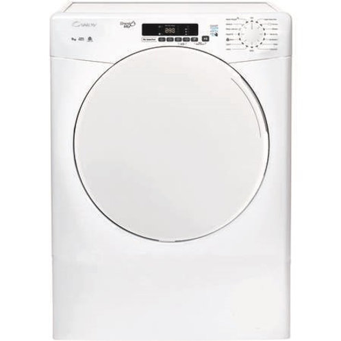 Candy CSV9DF 9kg Vented Tumble Dryer in White