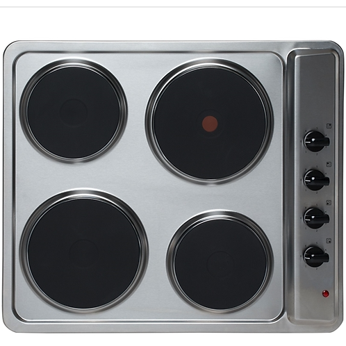 Montpellier sp601x  Solid Plate Hob Stainless Steel