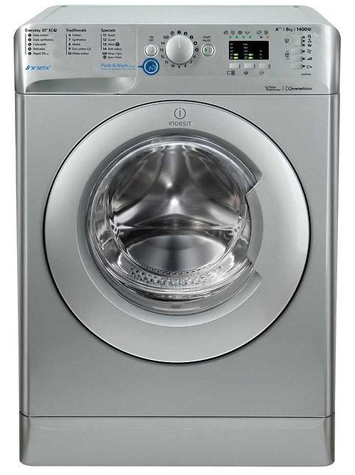 Indesit Innex BWA81483XS Silver 8kg Washing Machine
