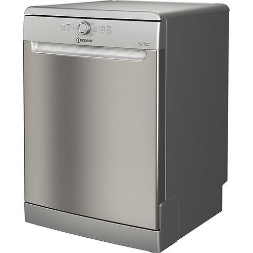 Indesit DFE1B19XUK Full Size Dishwasher Silver