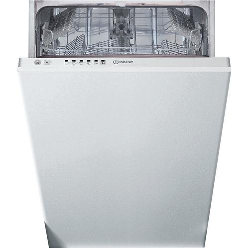 Indesit DSIE2B10UKN Slim Integrated Dishwasher