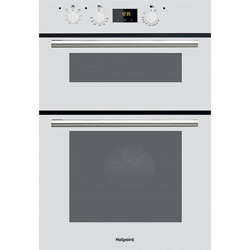 Hotpoint DD2540 White Double Oven