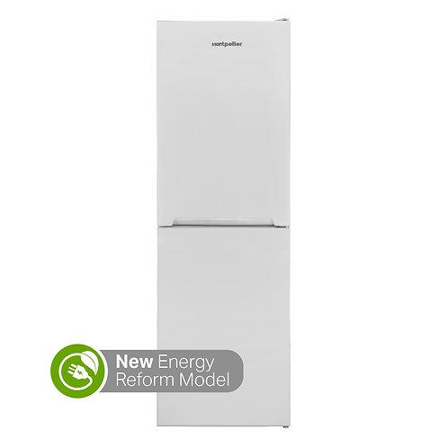 Montpellier MFF165W White 50/50 Fridge Freezer